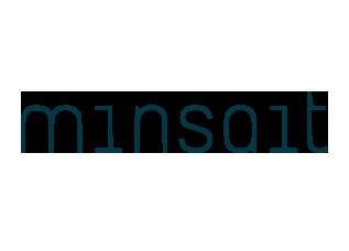 Logo Minsait - Compañía de Indra Sistemas S.A.